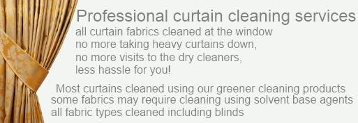curtain cleaning Nottingham and Derby