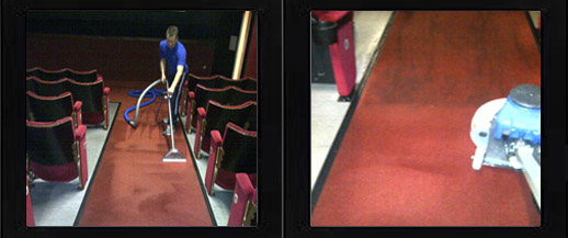 Commercial carpet cleaning in Nottingham